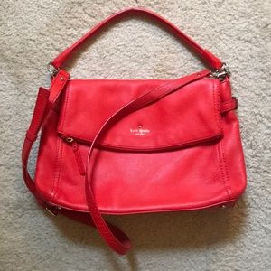 Kate Spade Coral Leather Purse